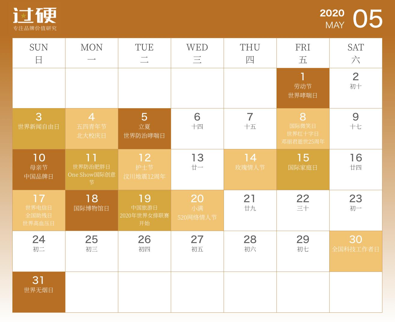 """020营销日历完整版出炉,全年300+借势热点,值得收藏"""""""