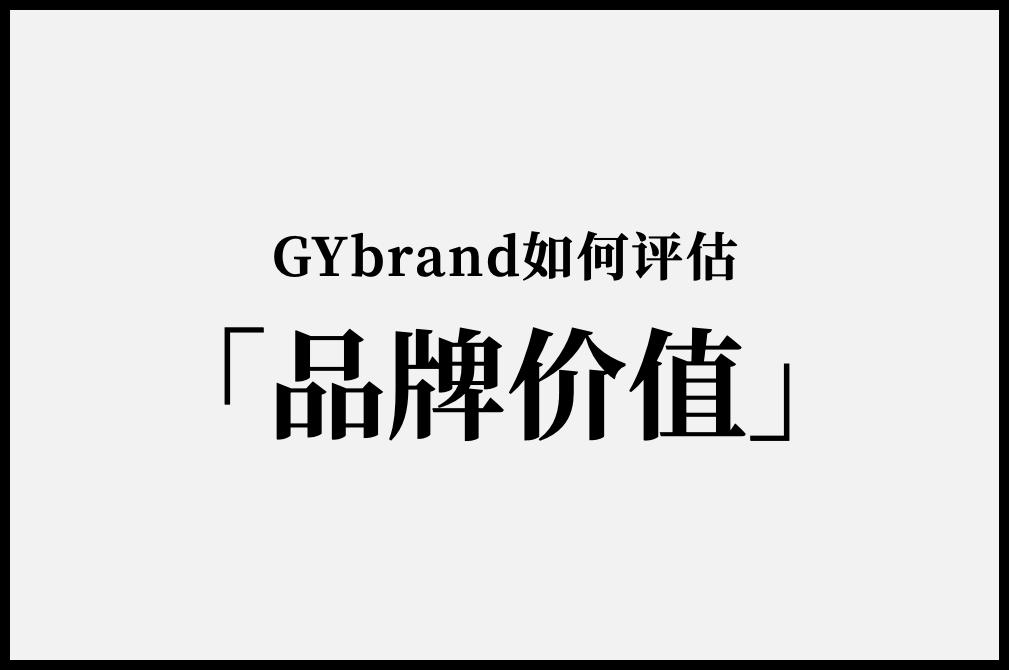 "GYbrand如何评估""品牌价值""?"