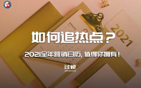 过硬2021全年营销日历:市场营销品牌公关追热点手册